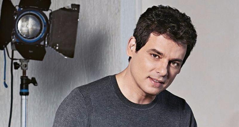 O apresentador Celso Portiolli, que comanda o 'Domingo Legal' (Foto: reprodução)
