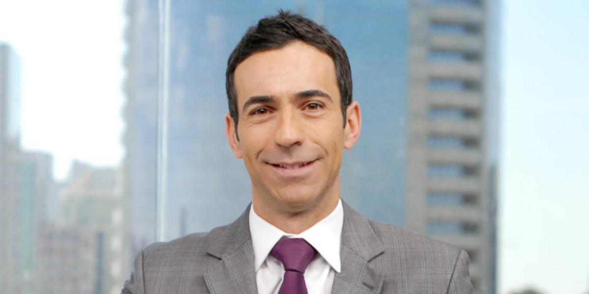 """César Tralli é apresentador do """"SP1"""" (Foto: Divulgação/TV Globo)"""