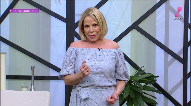 Claudete Troiano estreou o 'Vou Te Contar' na RedeTV! (Foto: reprodução)