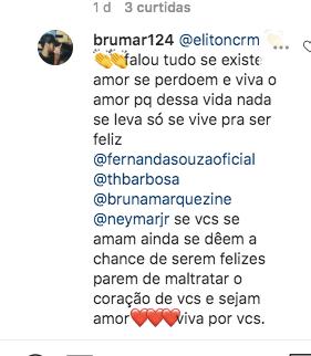 Thiaguinho recebeu um comentário inusitado (Foto: reprodução/Instagram)