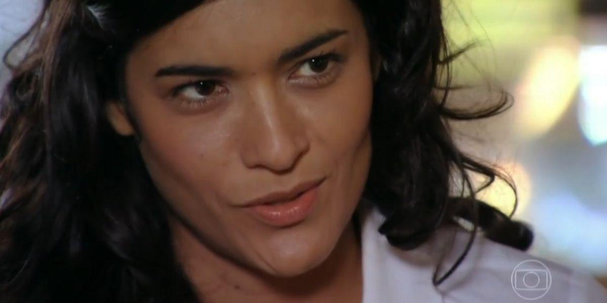 Rosto de Cristal personagem da novela Flor do Caribe
