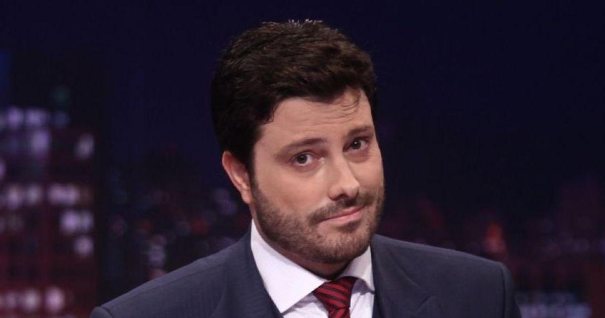 Danilo Gentili trava briga com atores da Globo (Foto: Divulgação)