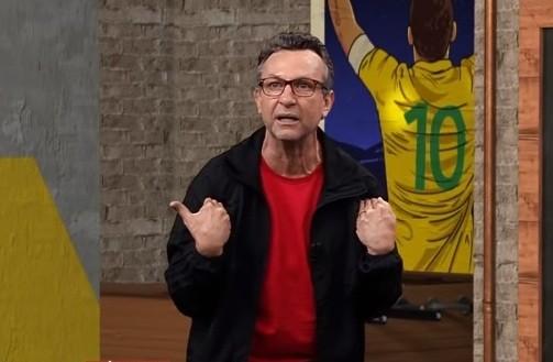Neto ficou revoltado com o comentário de Veloso (Foto: Reprodução)