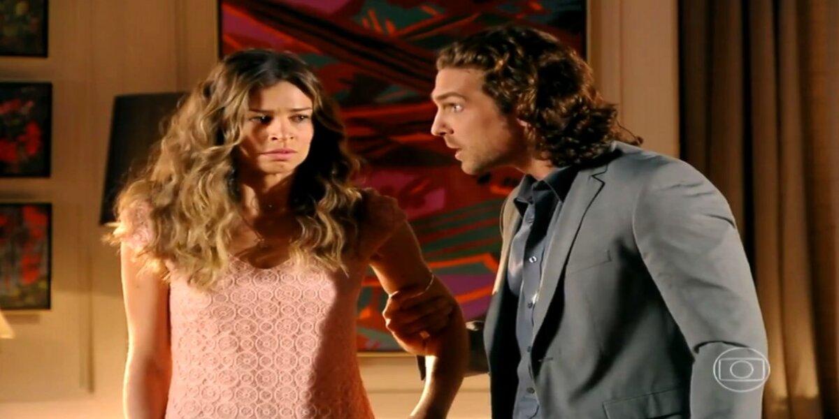 Alberto briga com Ester em Flor do Caribe