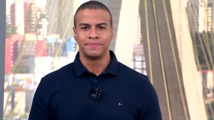 Thiago Oliveira, apresentador da Globo, acabou passando mal e precisou ser socorrido (Foto montagem)