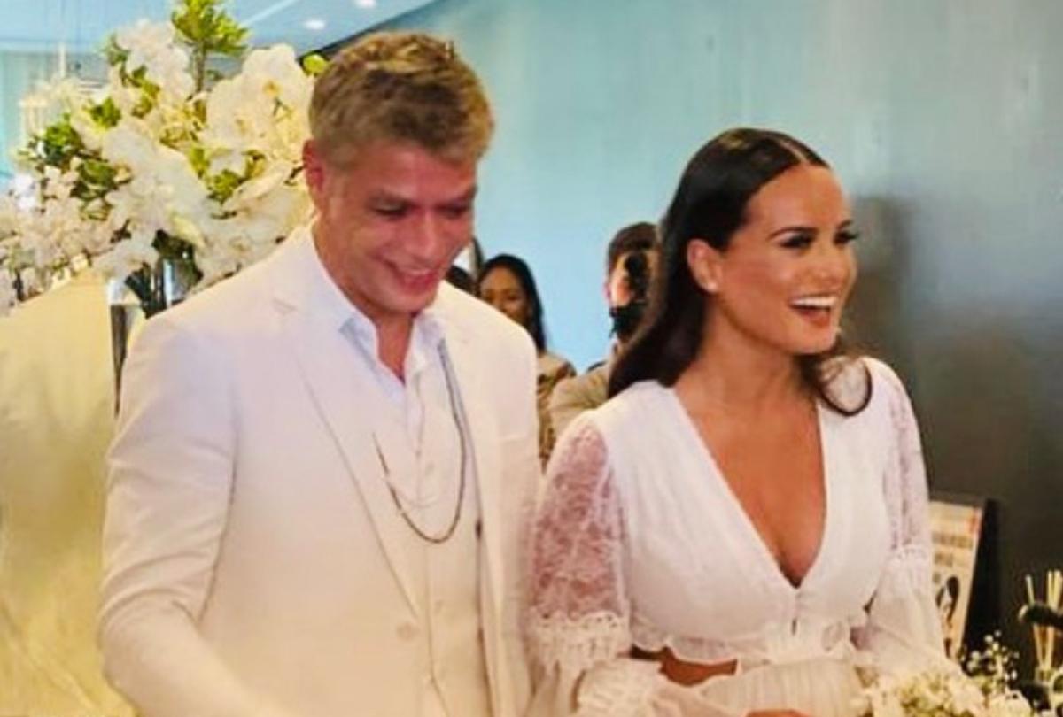 Fabio se casou novamente (Foto: Reprodução)