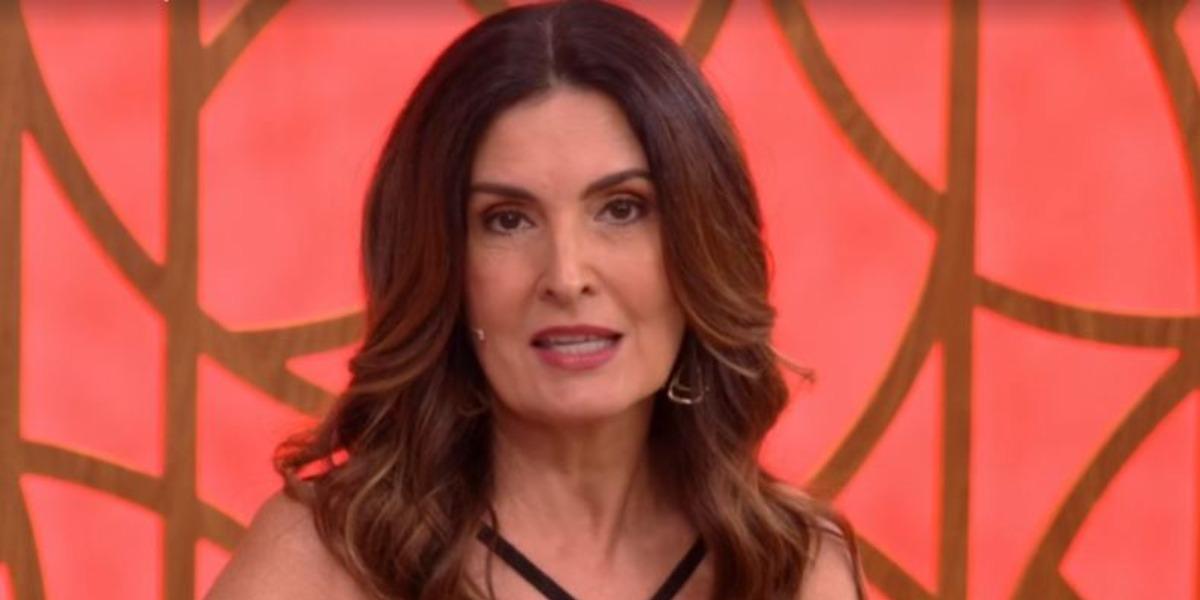 """Fátima Bernardes no """"Encontro"""" de hoje (Foto: Reprodução/TV Globo)"""