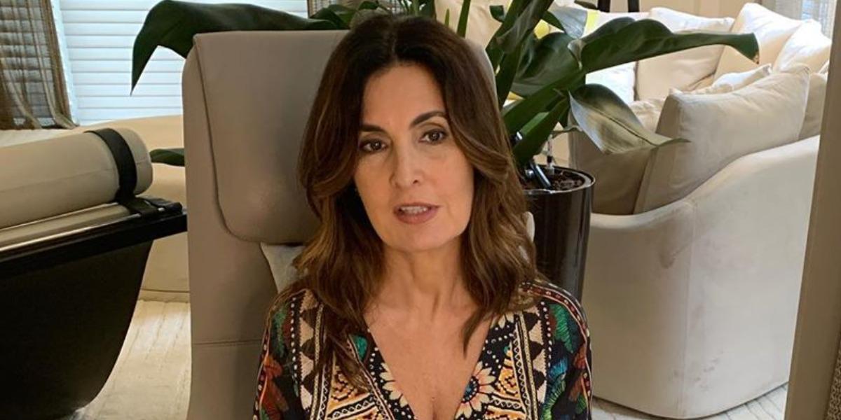 """Fátima Bernardes do """"Encontro"""", da TV Globo (Foto: Reprodução/Instagram)"""
