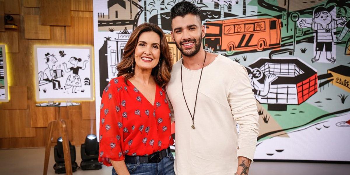 Fátima Bernardes e Gusttavo Lima são alguns dos artistas que tiveram divórcios milionários (Foto: Reprodução/TV Globo)