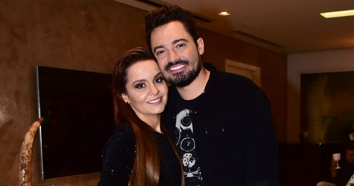 A cantora e Fernando Zor (Foto: Reprodução)