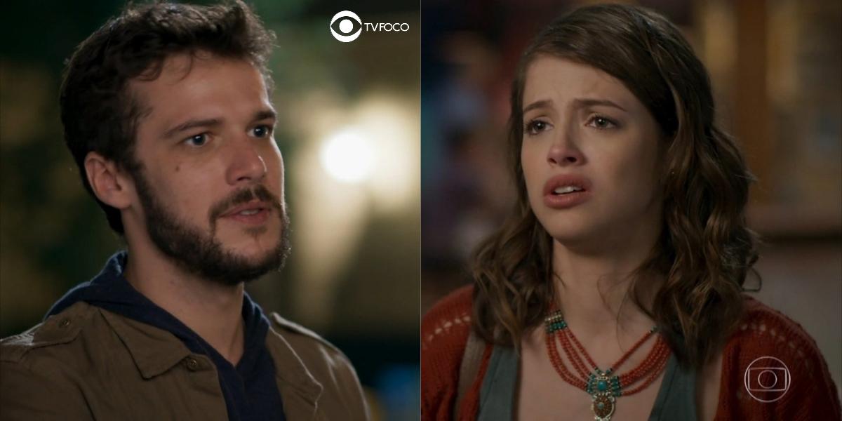 Giovanni não consegue deixar de pensar em Camila em Haja Coração