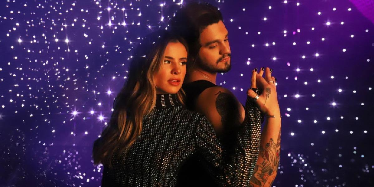 """Giulia Be e Luan Santana no clipe de """"Inesquecível"""" (Foto: Divulgação)"""