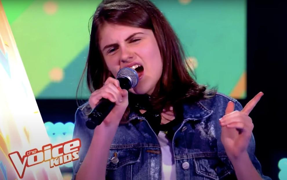 Bel Sant'Anna, do The Voice Kids, reality show da Globo (Foto: Divulgação)