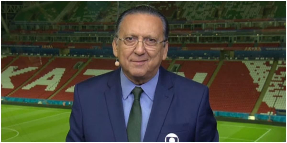 Galvão Bueno foi dispensado de jogo da Seleção na Globo - Foto: Reprodução