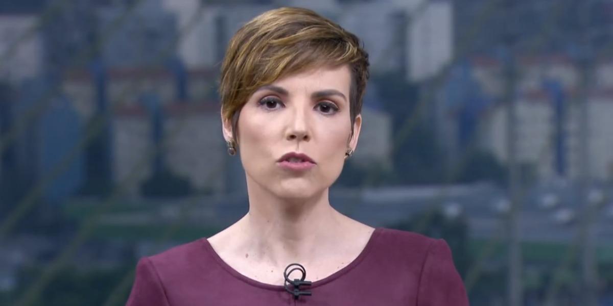 Gloria Vanique é a nova contratada da CNN Brasil (Foto: Reprodução/TV Globo)