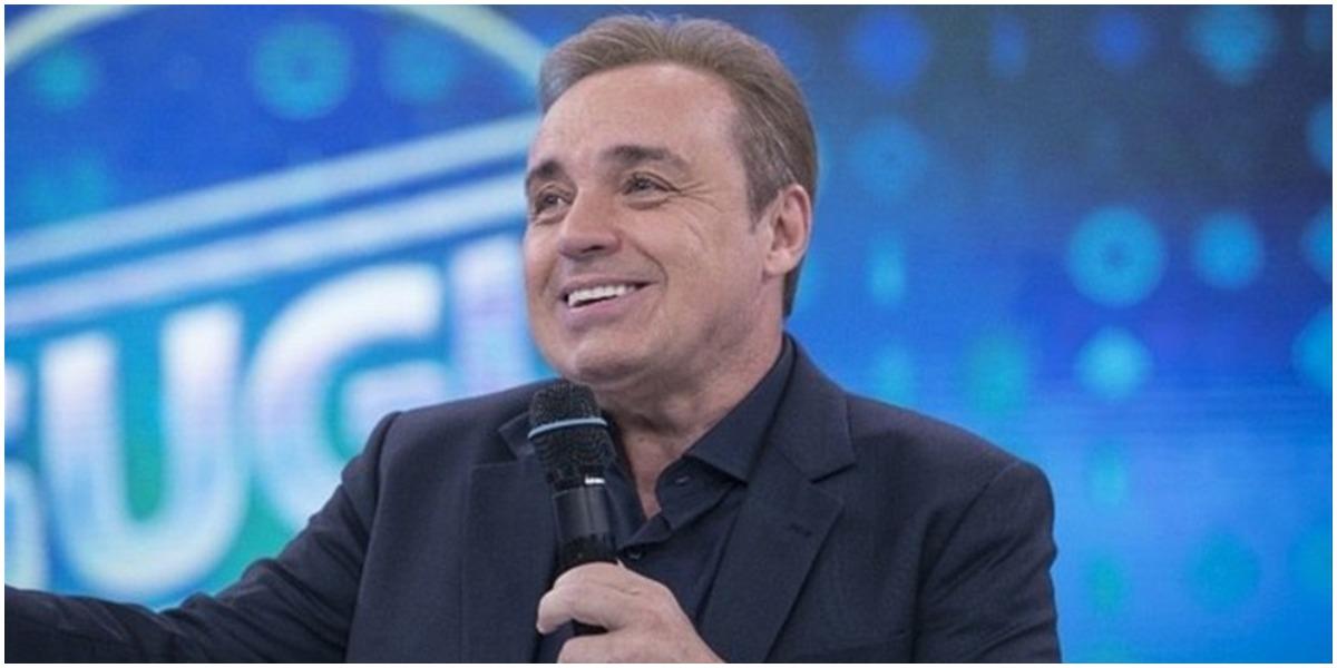 O apresentador Gugu Liberato antes de morrer - Foto: Reprodução