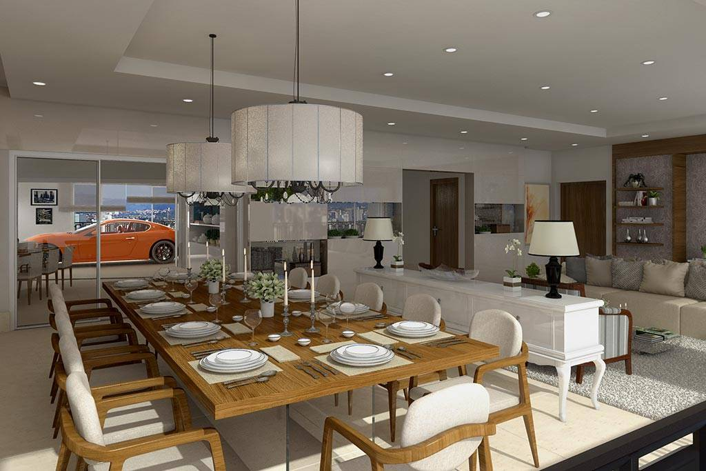 Novo apartamento luxuoso de cantor (Divulgação)