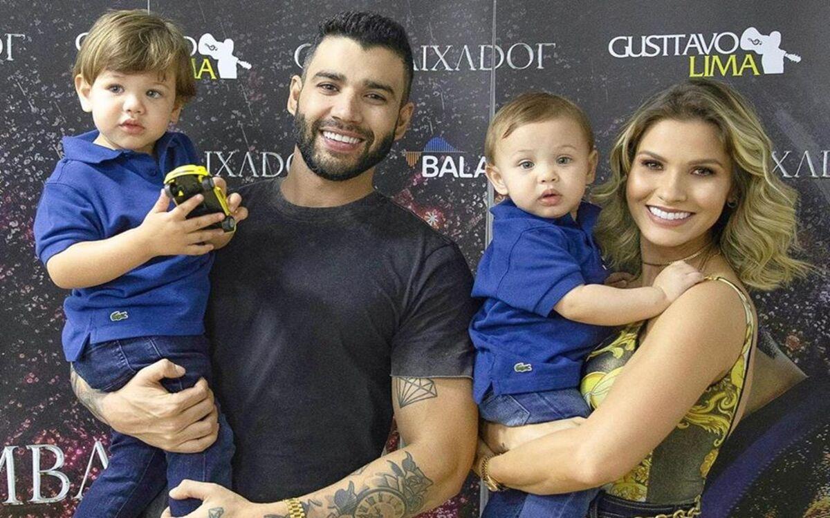 Andressa Suíta e Gusttavo Lima não estão mais juntos (Foto: Divulgação)