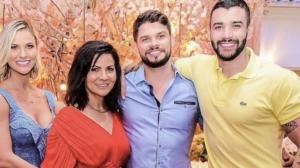 Gusttavo Lima recebeu uma indireta do irmão de Andressa Suita (Foto: reprodução)