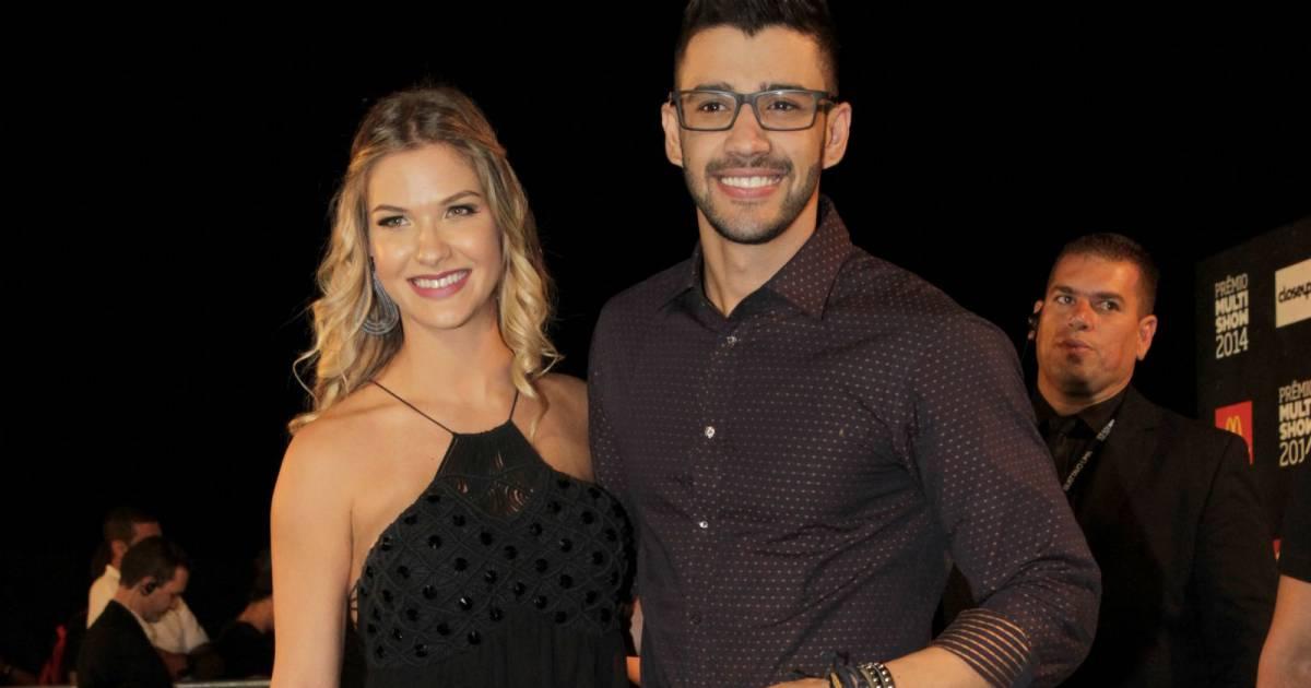 Andressa Suita e Gusttavo Lima (Foto: Reprodução)