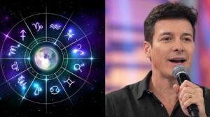 A aniversariante da terça=feira, 20, é a apresentador Rodrigo Faro, que é do signo de Libra (Foto: Reprodução)