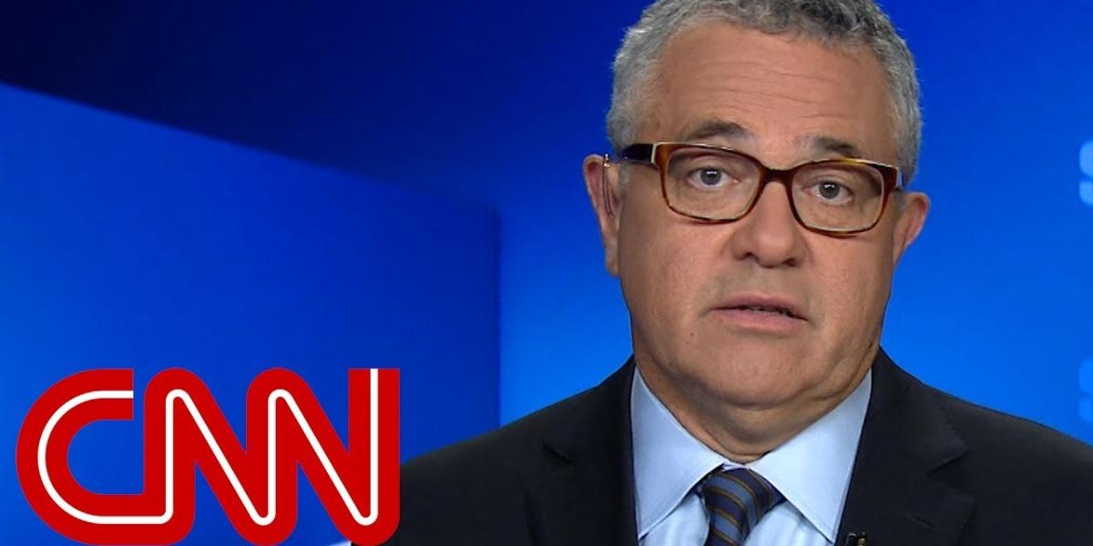 Jeffrey Toobin é analista jurídico da CNN americana (Foto: Reprodução)