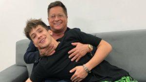 João Guilherme é o filho mais novo de Leonardo (Foto: Reprodução)