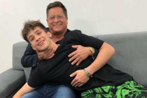João Guilherme, filho do cantor Leonardo, abriu o jogo (Foto montagem)