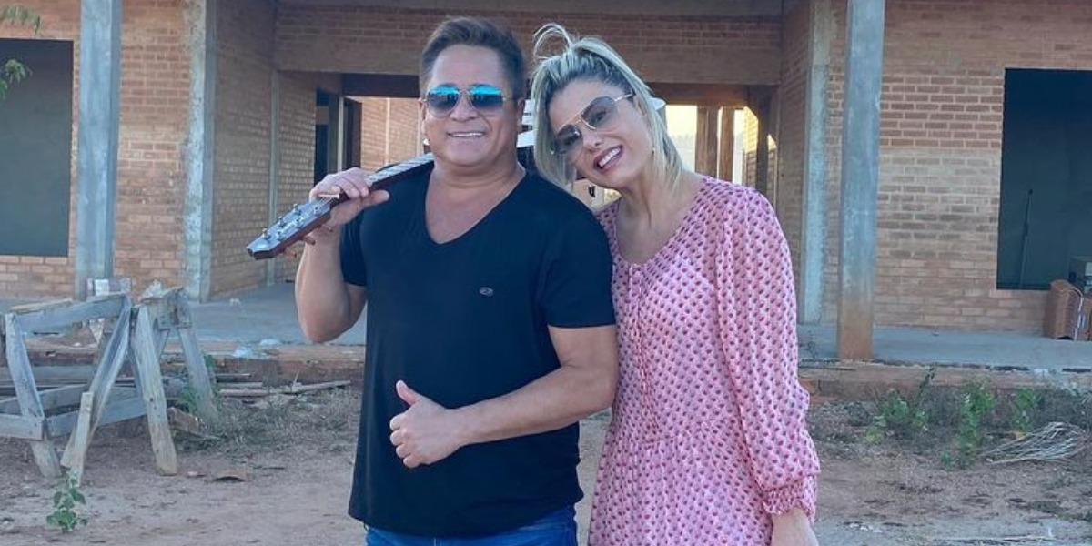 Leonardo e Poliana Rocha são casados há 24 anos (Foto: Reprodução/Instagram)