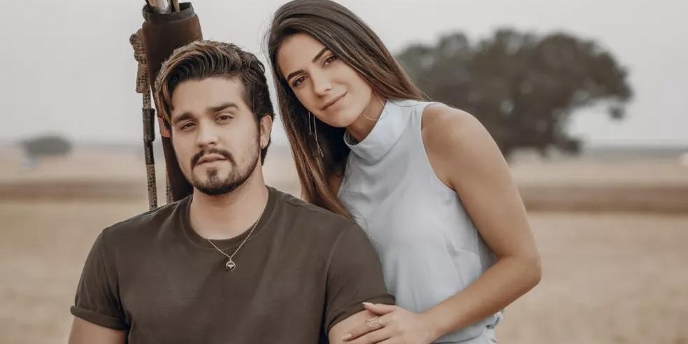 Luan Santana e Jade Magalhães (Foto: reprodução)