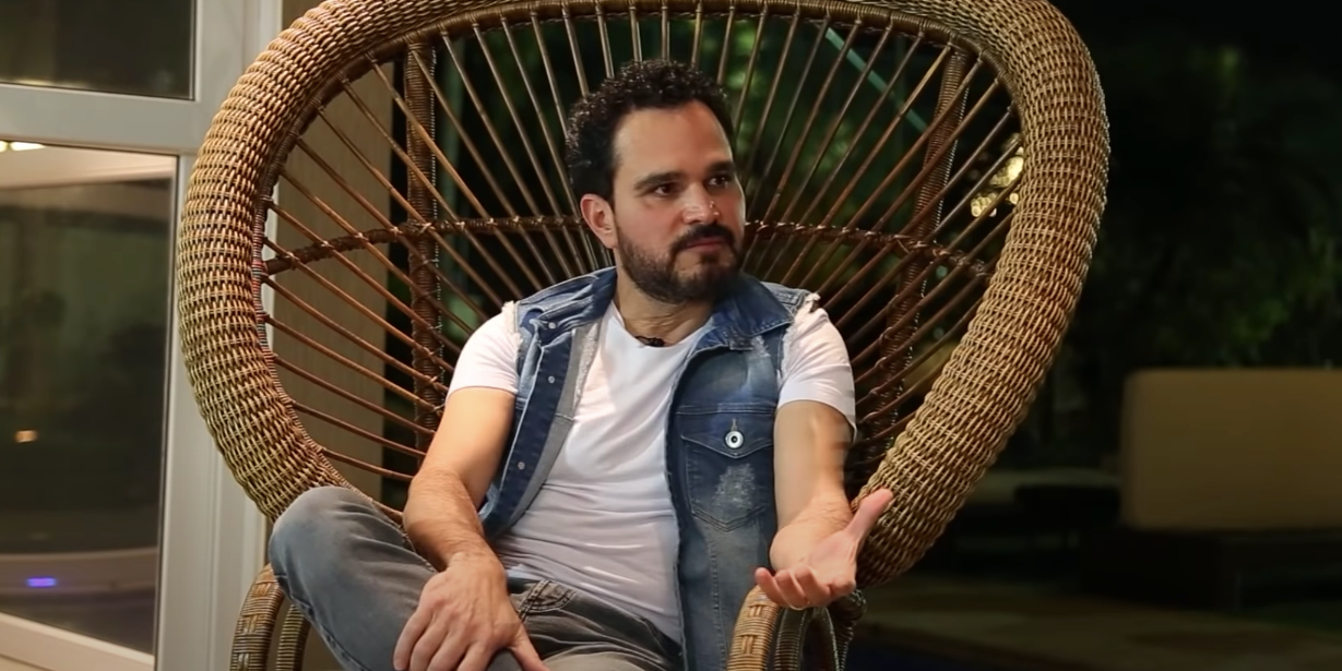 Luciano Camargo falou sobre o fim com Zezé (Foto: reprodução)