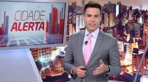 O apresentador do Cidade Alerta, Luiz Bacci (Foto: Divulgação)