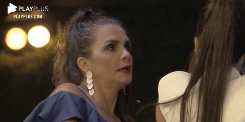 Luíza Ambiel detonou a produção de A Fazenda 12 (Foto: reprodução/Record)