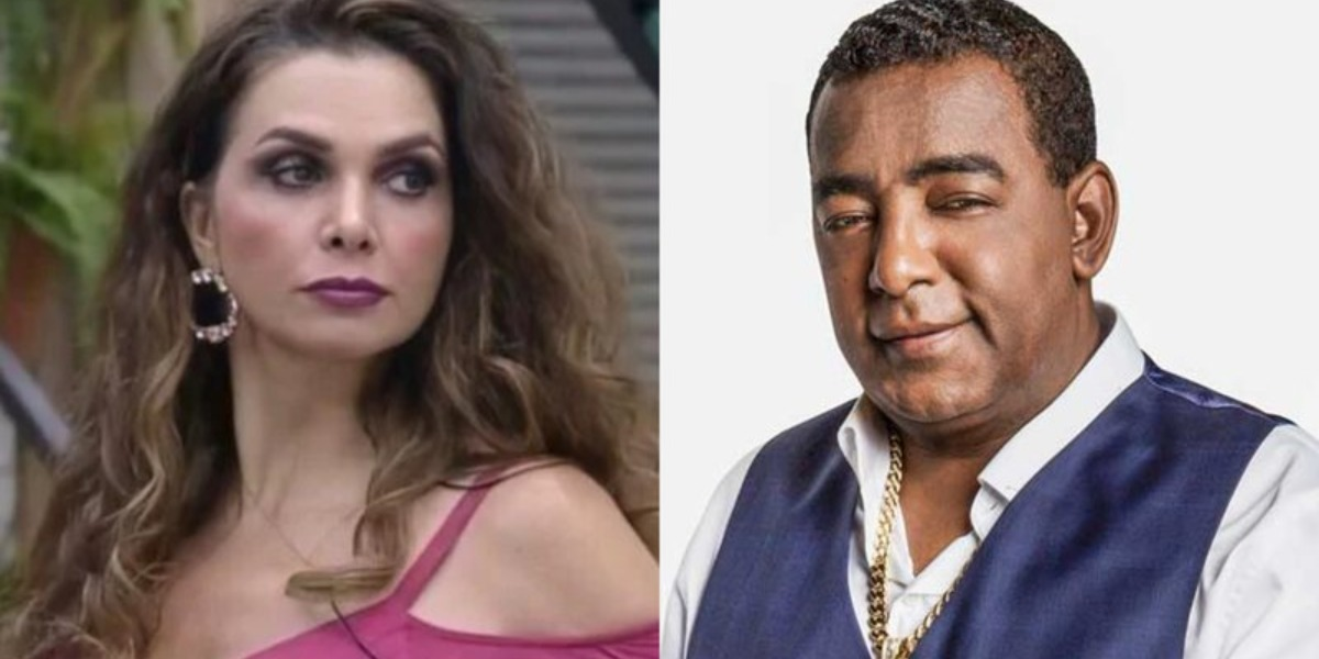 Luiza Ambiel e Luiz Carlos (Foto: Reprodução)