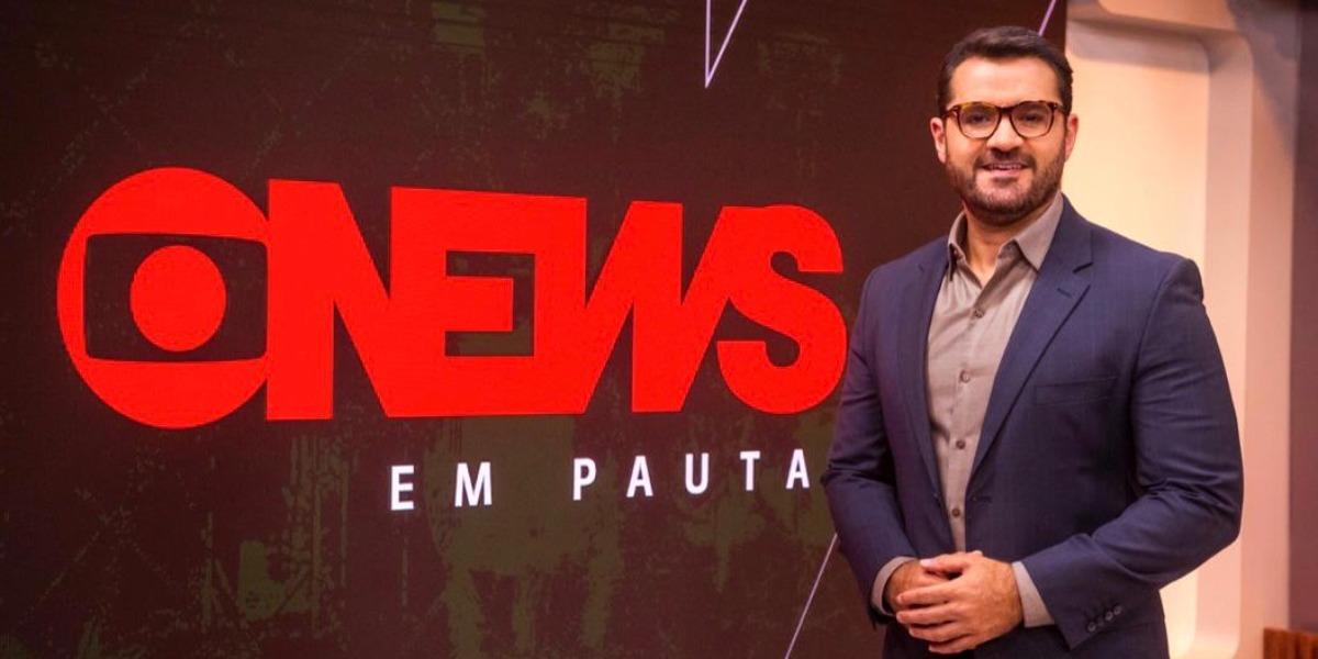 Marcelo Cosme, jornalista da Globo, é vítima de hackers (Foto: Reprodução)
