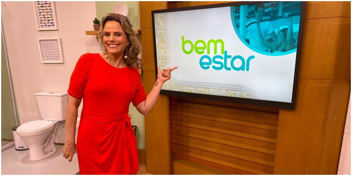A apresentadora Maria Cândida brilha atualmente na Globo - Foto: Reprodução