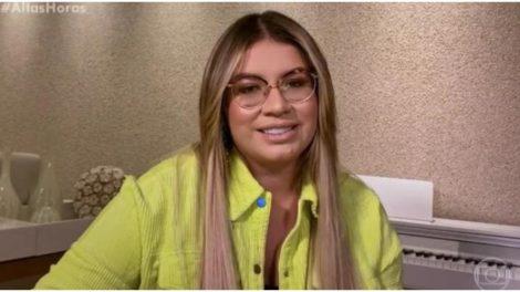Marília Mendonça quebrou o silêncio na Globo - Foto: Reprodução