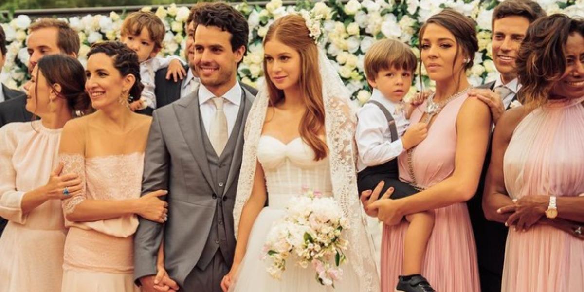 Marina Ruy Barbosa convidou amiga 'cobra' para o casamento com Alexandre Negrão (Foto: Reprodução/Instagram)