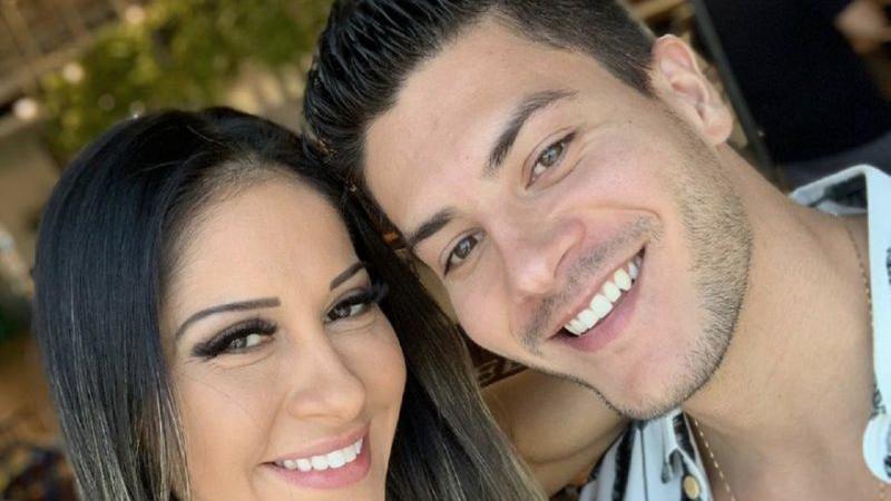 Mayra Cardi quer anular seu casamento com Arthur Aguiar (Foto: reprodução)