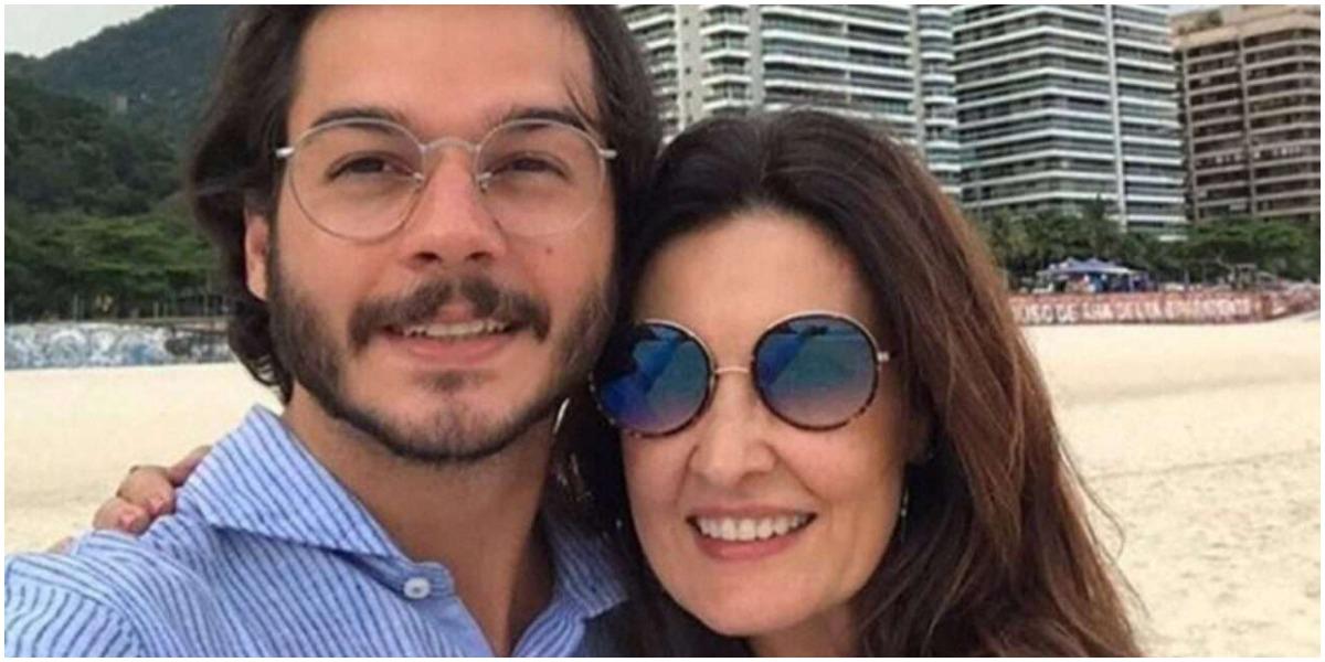 Namorado de Fátima Bernardes expõe apresentadora (Foto: Reprodução)