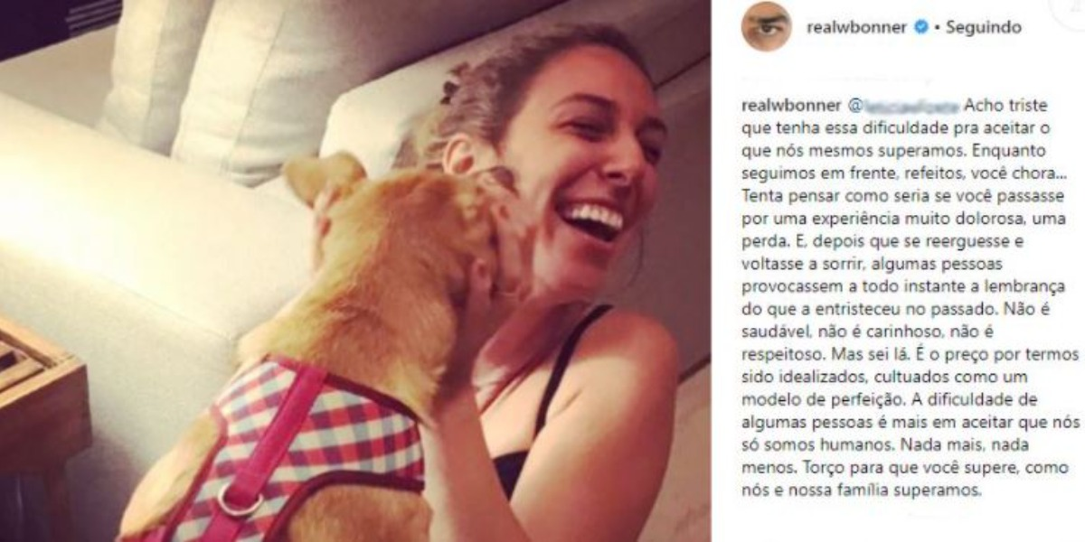 Natasha Dantas foi defendida pelo marido (Foto: Reprodução/Instagram)