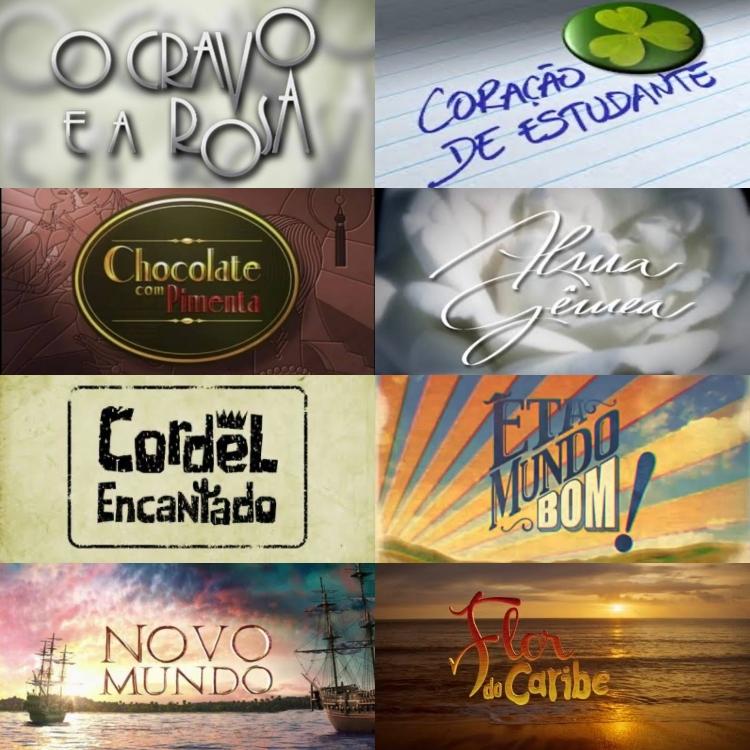 O Cravo e a Rosa, Chocolate com Pimenta, Êta Mundo Bom e mais: Veja audiências de novelas das 18h da TV Globo (Foto: Montagem)