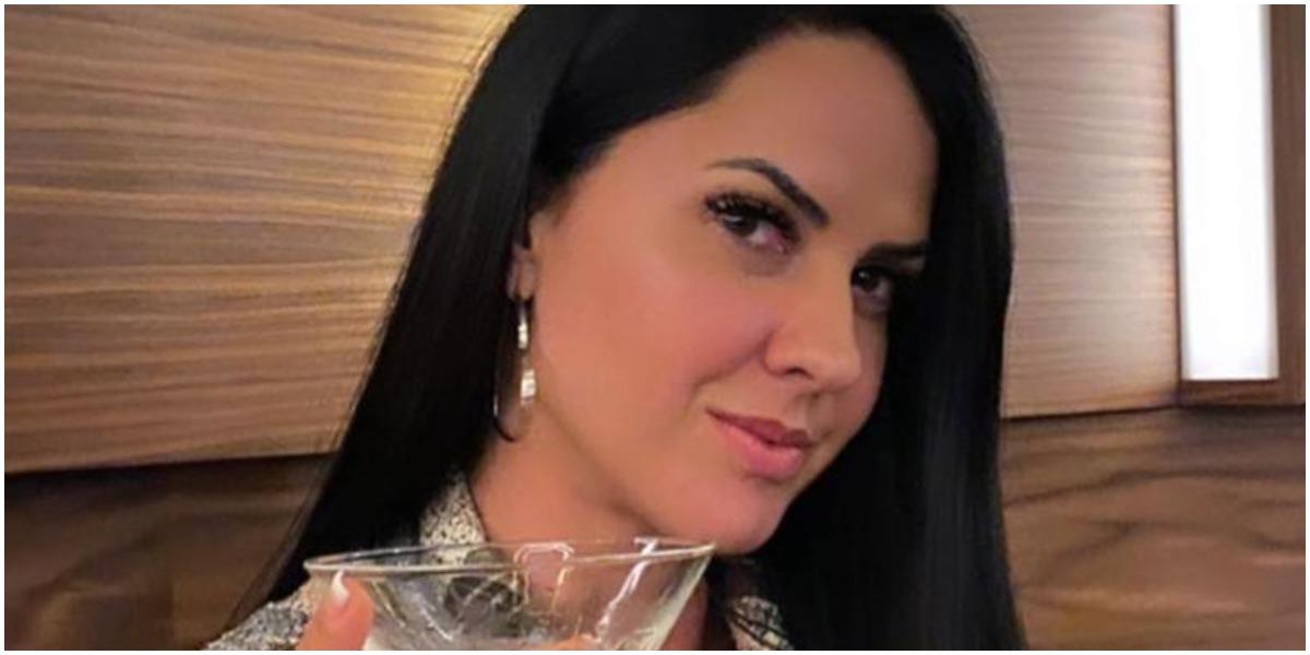 Zezé: Graciele Lacerda explicou motivo de não aparecer muito em fotos com as enteadas (Foto: Reprodução)
