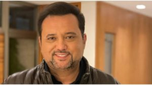 Geraldo Luís recebe mensagem de dentro da Record (Foto: Reprodução)