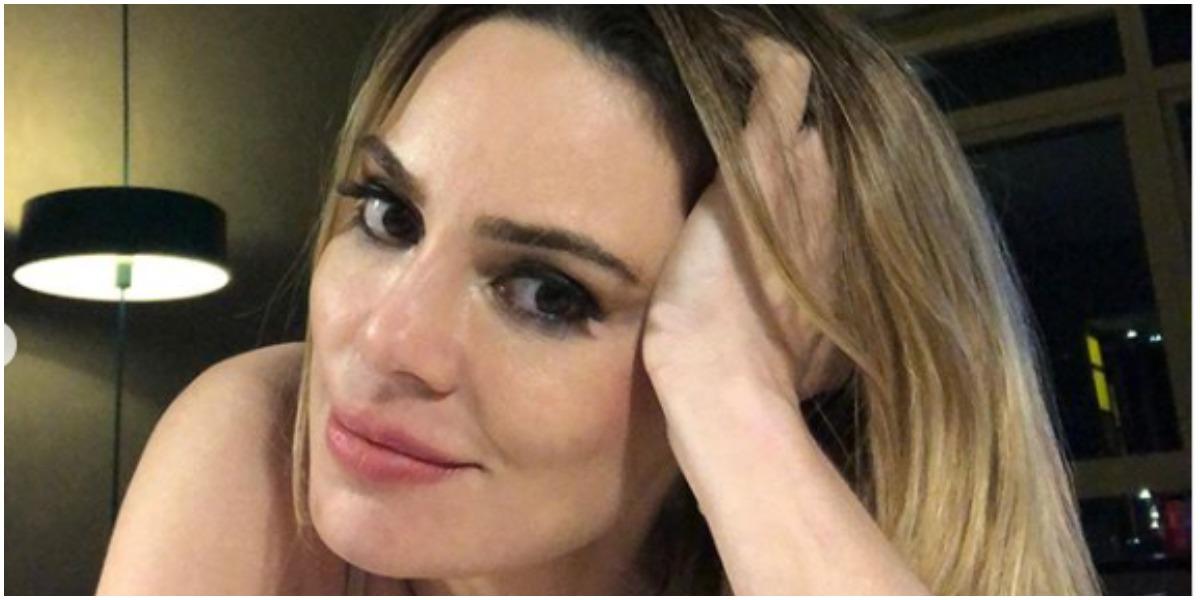 Rachel Sheherazade usou as redes sociais para postar uma foto ousada nas redes sociais (Foto: Reprodução)