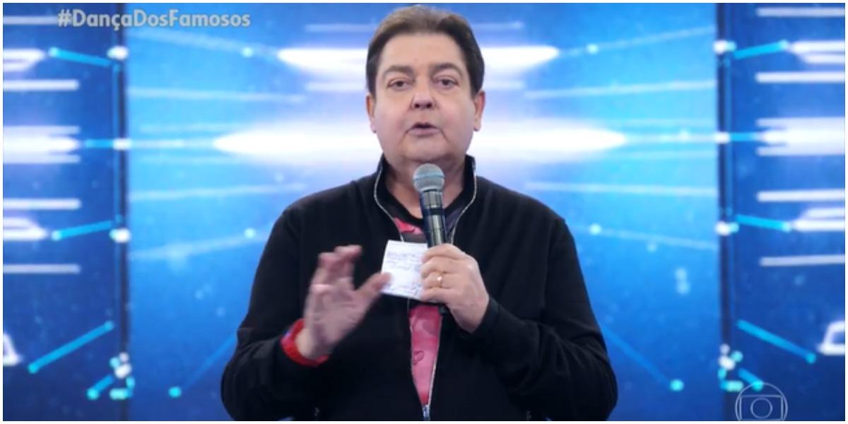 Faustão declara que Juliano Laham já foi operado de tumor (Foto: Reprodução)