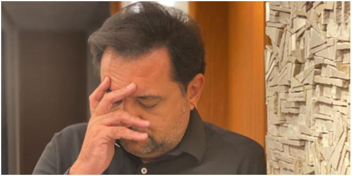 Geraldo Luís expõe reflexão ao público (Foto: Reprodução)
