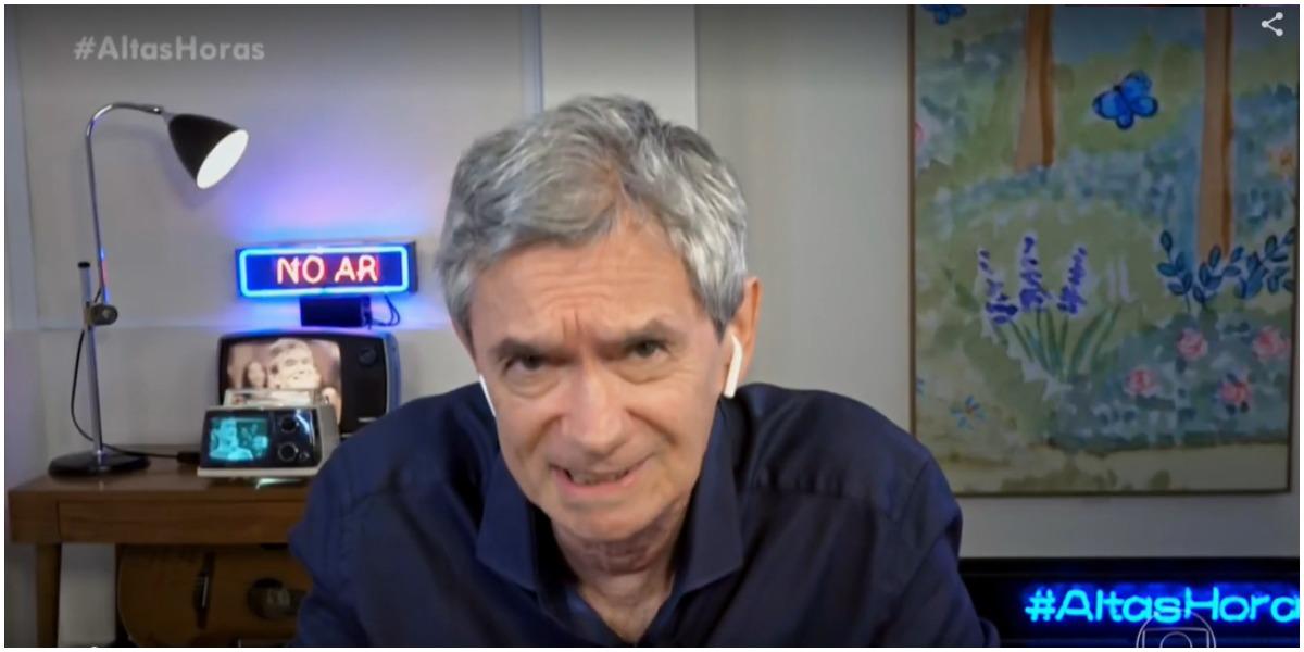 Serginho Groisman faz Galvão assumir a verdade ao país (Foto: Globo)