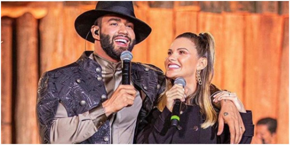 Gusttavo Lima e modelo Andressa Suita (Foto: Instagram)