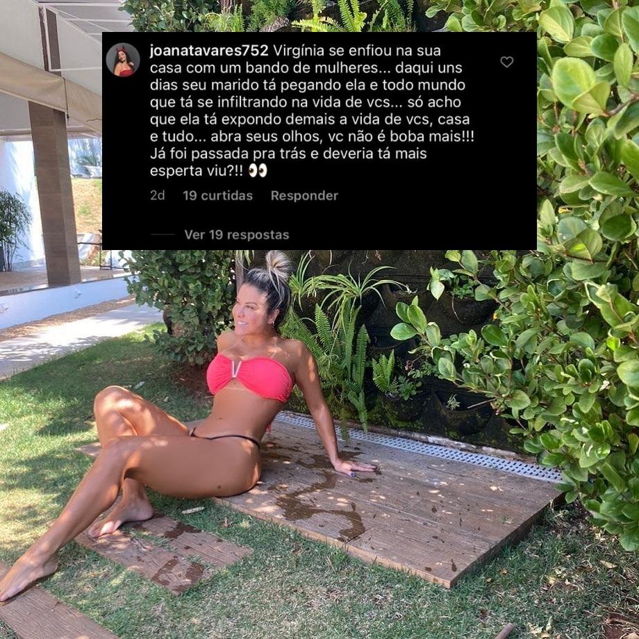 Poliana Rocha recebeu um aviso de uma internauta (Foto: reprodução/Instagram)